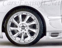 Mercedes Lorinser LM6 Wheels