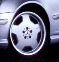 AMG Monoblock Type II Wheel