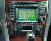 Mercedes In Dash CD, and Nav System