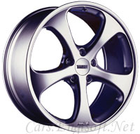 Formula 5 Spoke Monobloc wheels