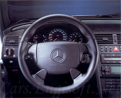 Mercedes AMG Sport Steering Wheel Air Bag