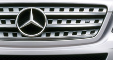 Mercedes W164 ML Bold Front Grille